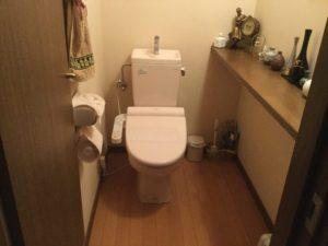 トイレの内装(壁紙)のご依頼です